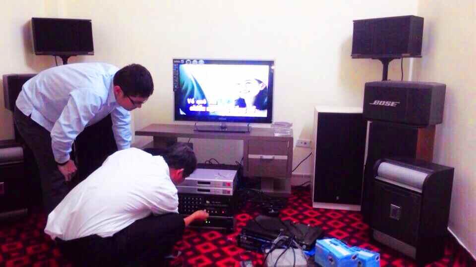 Việt Hưng lắp đặt hệ thống âm thanh karaoke chuyên nghiệp