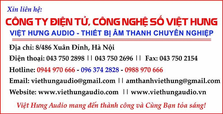 Việt Hưng Audio chuyên các dòng sản phẩm Loa Nanomax giá tốt chất lượng cao