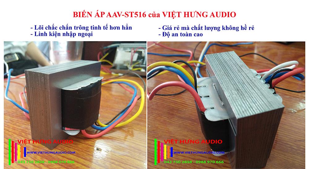 Biến áp loa AAV-ST516 của Việt Hưng Audio giá rẻ