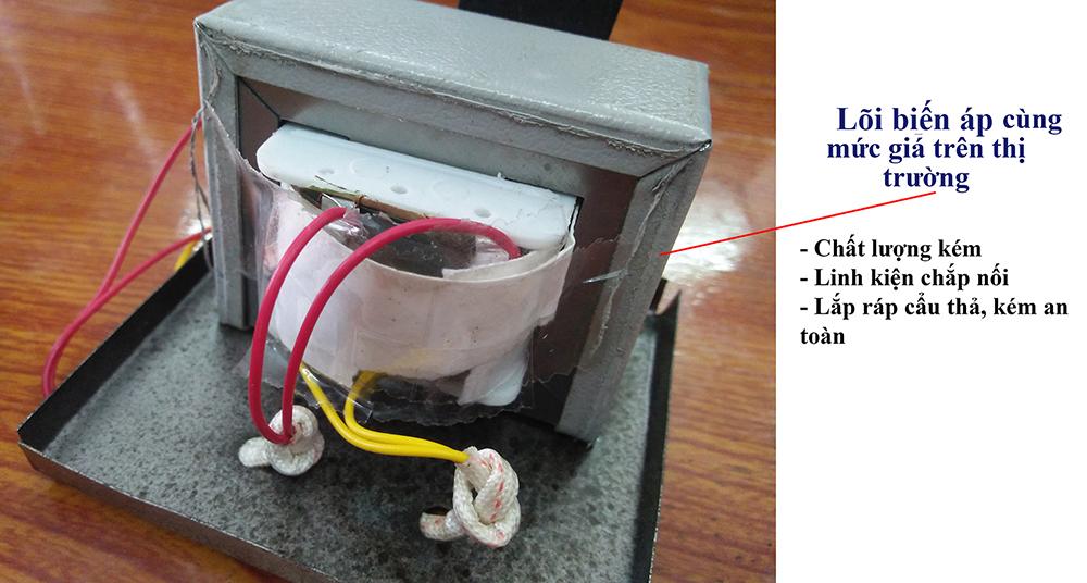 Biến áp loa Việt Hưng Audio giá rẻ, chất lượng hơn hẳn các hãng khác trên thị trường.