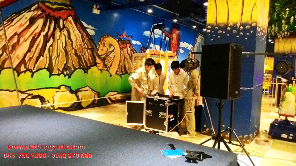 Việt Hưng Audio thiết kế lắp đặt dàn âm thạnh sân khấu