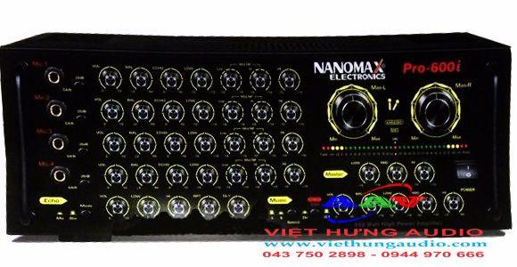 Amply Nanomax Pro-600i - Amply chuyên dùng hát karaoke chất lượng tốt