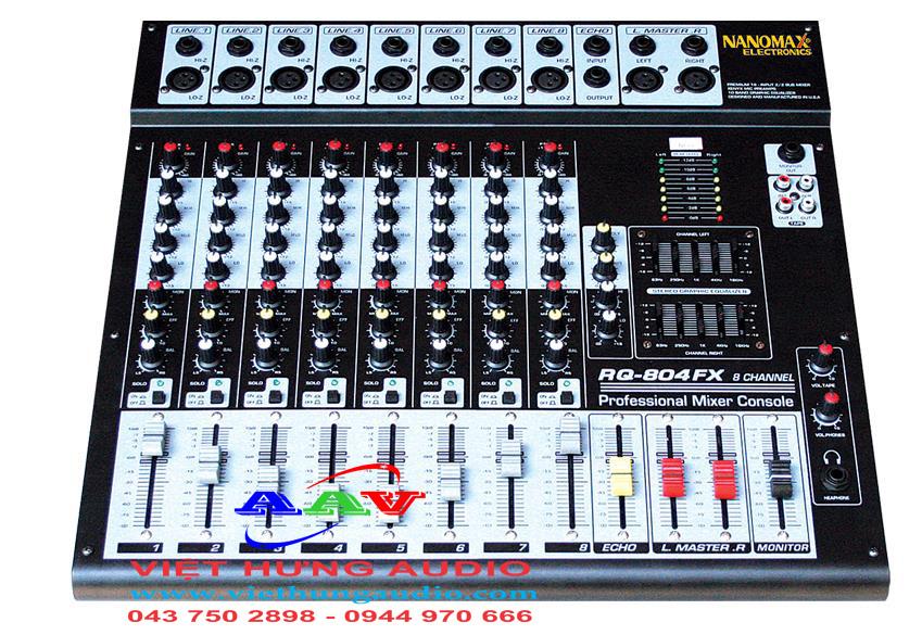 Mixer Nanomax EQ-804FX chất lượng cao tại Việt Hưng