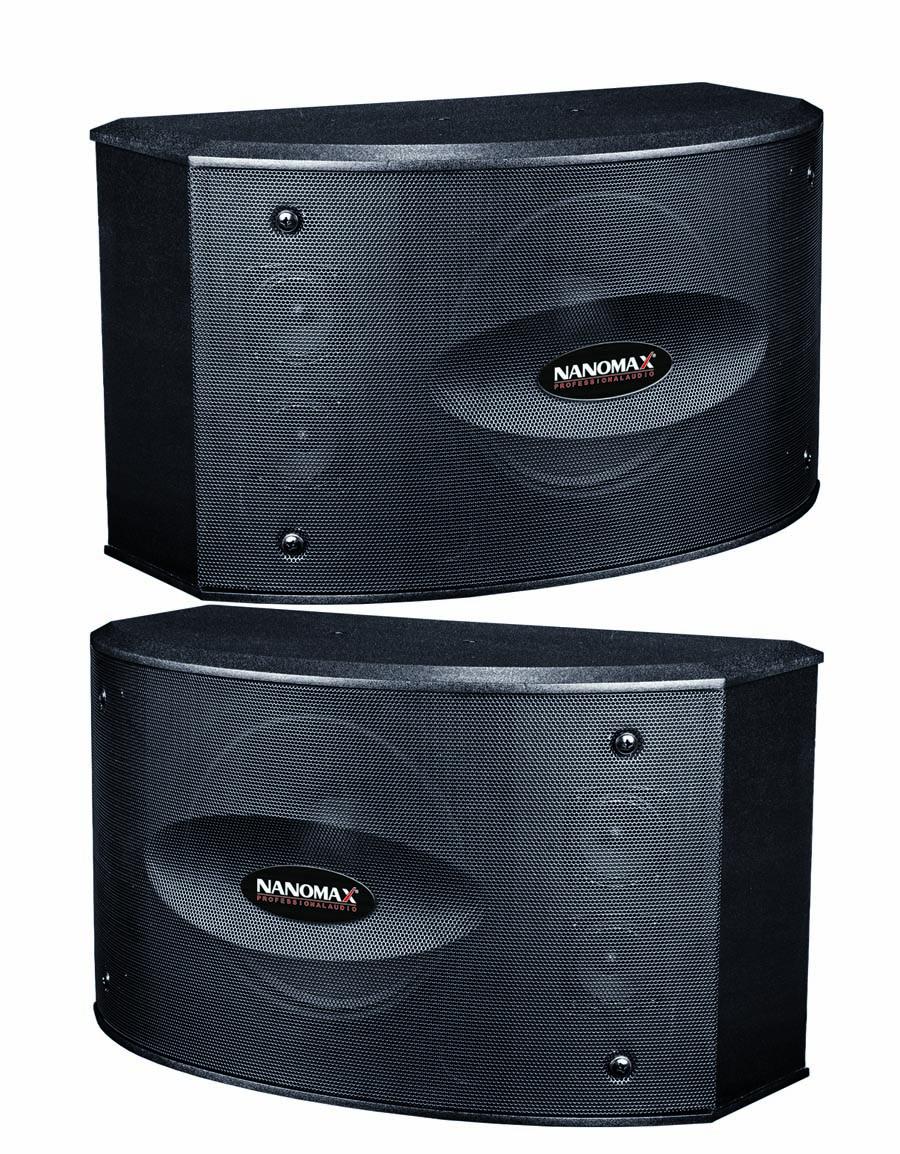 Loa Nanomax S-325, loa nanomax, loa chuyên dùng cho nghe nhạc, karaoke, loa hội trường sân khấu