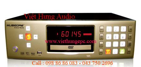 Đầu máy karaoke Musiccore  Hi-End TS-10 KHÔNG KÉN ĐĨA , NHIỀU TÍNH NĂNG ƯU VIỆT VƯỢT TRỘI