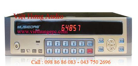 Đầu máy karaok Musiccore  HDD TS-9 VỚI CÔNG NGHỆ VƯỢT TRỘI KHÔNG GÌ LÀ KHÔNG THỂ
