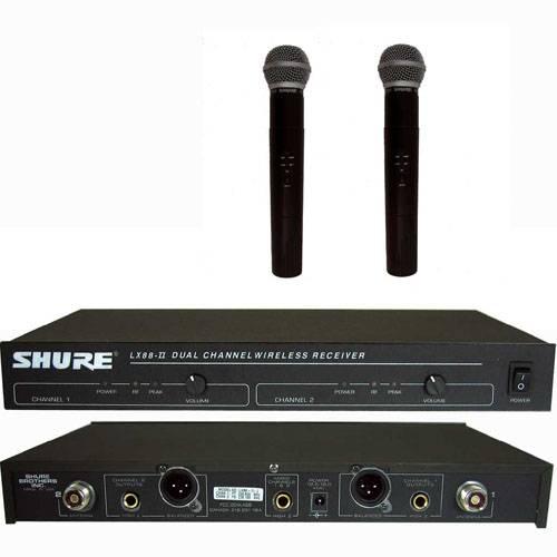 Micro không dây Shure SM58-LX88, biểu diễn chuyên nghiệp,cao cấp