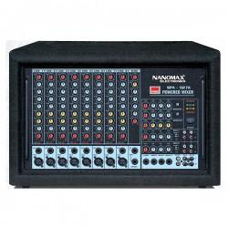 Amply Nanomax SPA-927A, Amply liền mixer Nanomax SPA-927A công suất cao, giá cực tốt, rất phù hợp cho nhà trường, cơ quan, đơn vị, âm thanh siêu thị