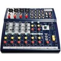 Mixer SOUNDCRAFT Notepad 124FX