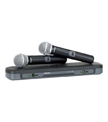 Micro Shure SVX288E/PG58 - Micro chuyên nghiệp chính hãng 2 mic cầm tay