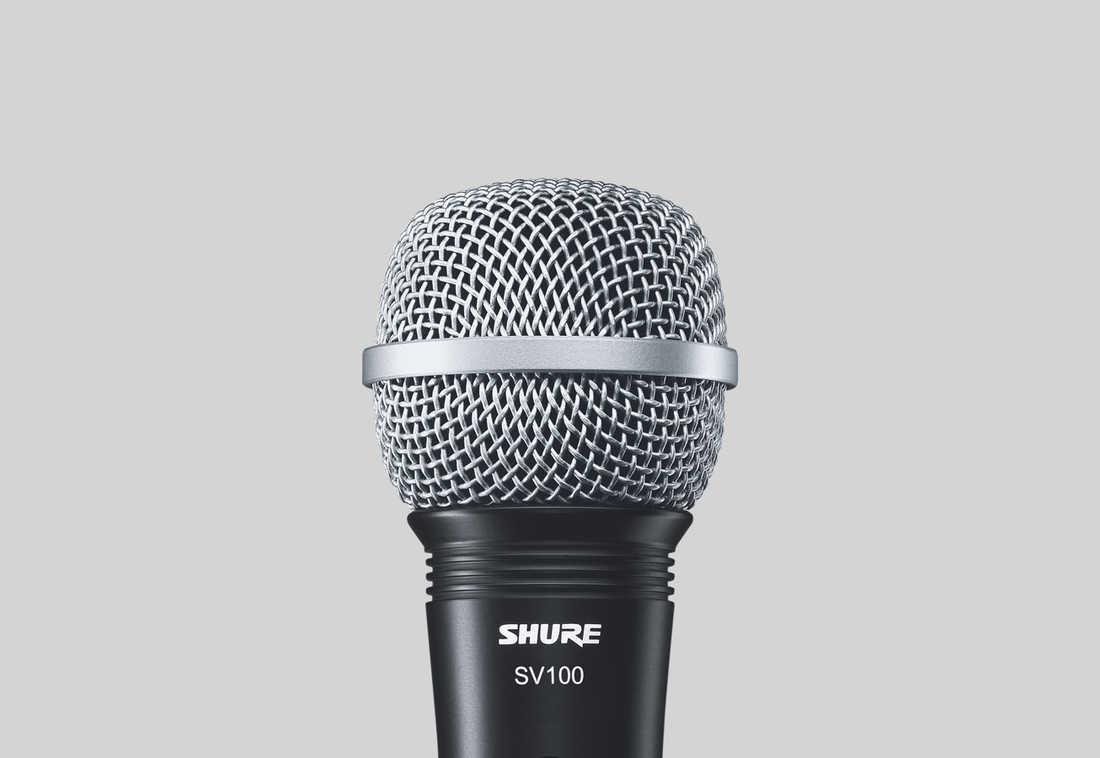Micro Shure SV100 - Micro đa chức năng với chất lượng âm thanh tuyệt vời, lý tưởng cho thuyết trình,...
