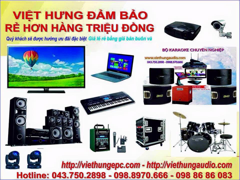 Khuyến mãi lớn tại Việt Hưng Audio khi mua thiết bị âm thanh