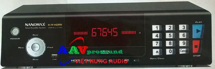 Đầu karaoke Nanomax N-79 HDMi chất lượng tốt, giá tốt